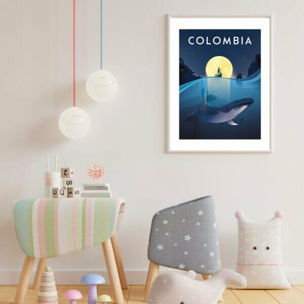 Affiche pacifique colombie